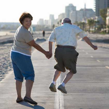 Why Live-in Care - image couple-active on https://grandmajoan.com