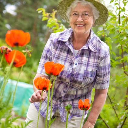 Why Live-in Care - image grandma-garden on https://grandmajoan.com